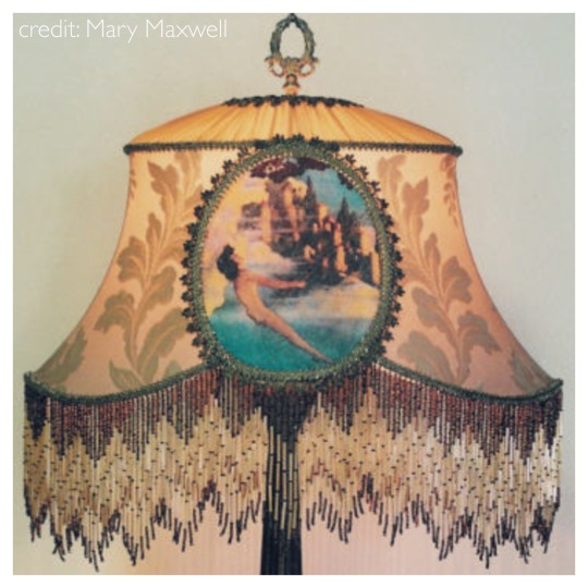 Mary Maxwell's beautiful Victorian Shade