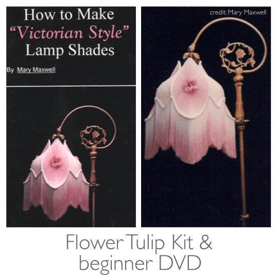 Flower Tulip Lampshade Kit & Beginner DVD