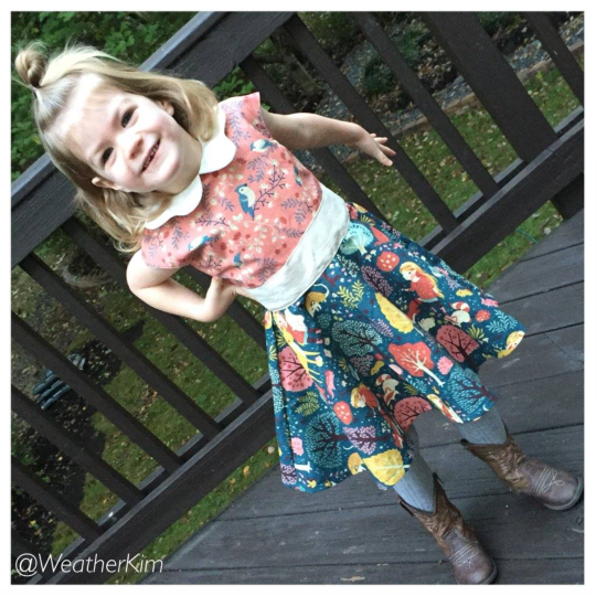 Tinny Dress Little Girl Dress pattern